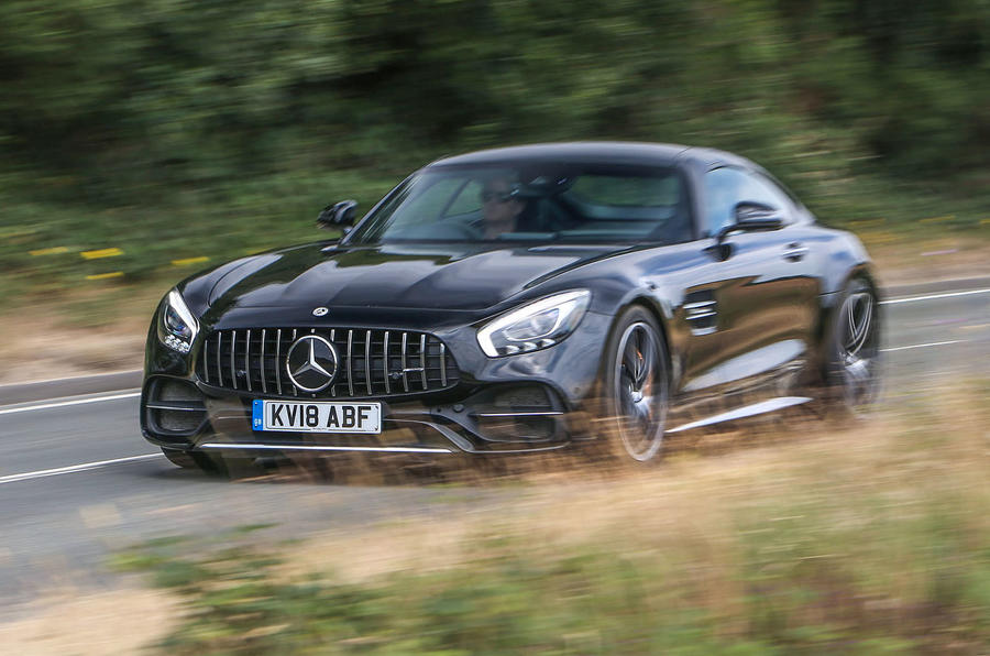 Mercedes Amg Gt C Coupe 2018 Uk The News